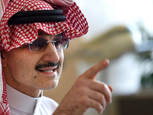 FILES-SAUDI-ROYALS-CHARITY-ALWALEED