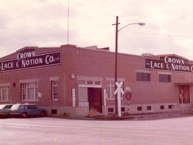 Crown Lace & Notion warehouse, 1970s.