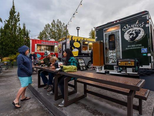 George Street Food Trucks