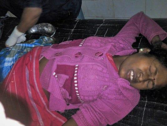 AP INDIA REBEL VIOLENCE I IND