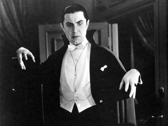 Bela Lugosi, seen here in 'Dracula,' was one of the