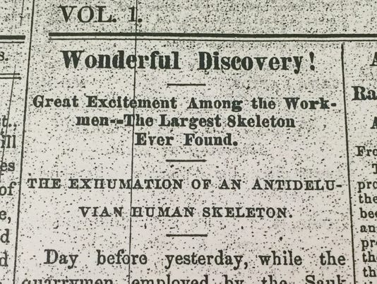 Wonderful Discovery giant bones