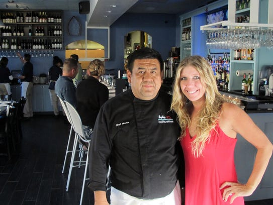Chef Hector Hidalgo and General Manager Emily Dall