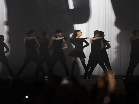 8bdc3c6f706 Review  Ariana Grande shows how much she s grown in Phoenix tour launch