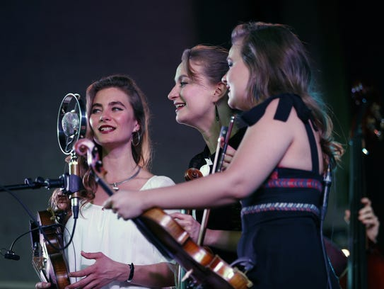 The Quebe Sisters perform at the Harro East Ballroom