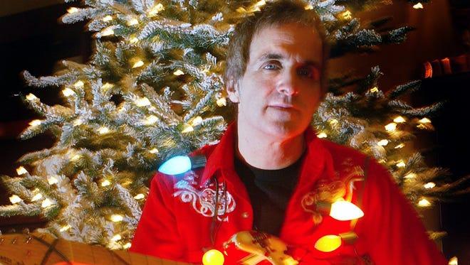 Glen Burtnik gets lit for the holidays.