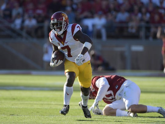 Southern California wide receiver Steven Mitchell Jr.