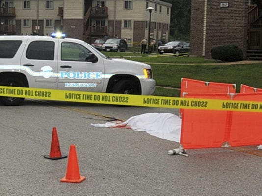 Evidence photos from Michael Brown shooting