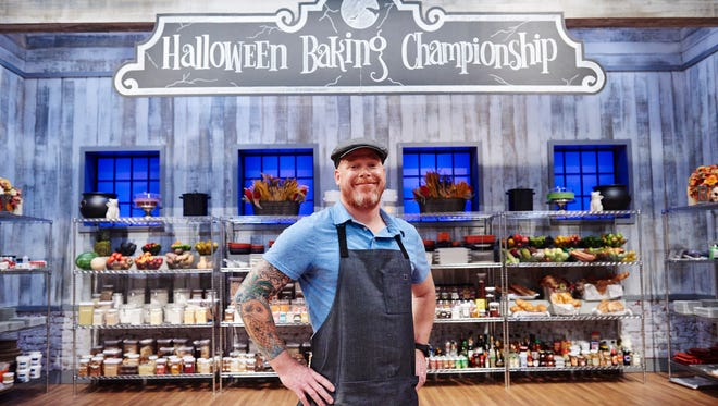 "Scott Breazale of Canton is a contestant on Food Network's ""Halloween Baking Championship."""