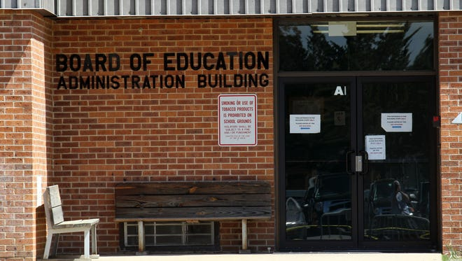 The Brick Township Board of Education offices are shown Thursday, May 7, 2015.