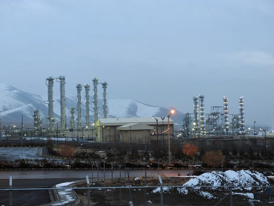 This Jan. 15, 2011 file photo shows the heavy water