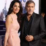 Amal Clooney's first solo U.S. TV interview will air on Thursday's episode of 'NBC Nightly News With Lester Holt.'