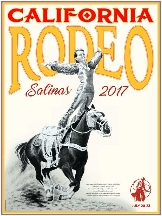 2017 California Rodeo Salinas poster
