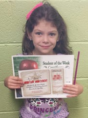 Dickson Elementary Student of the Week, Sept. 21 -