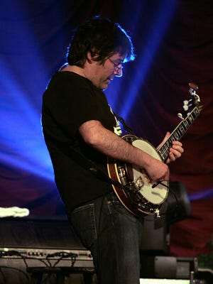Bela Fleck, pictured with the Flecktones at the Kentucky Theater in Lexington, Ky. on Thursday, March 16, 2006.