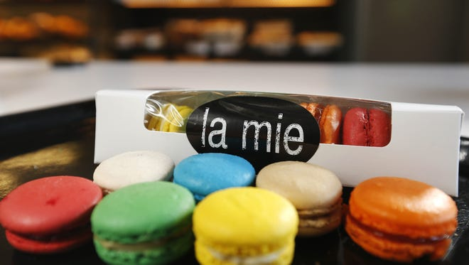 French macarons from La Mie Express in downtown Des Moines.