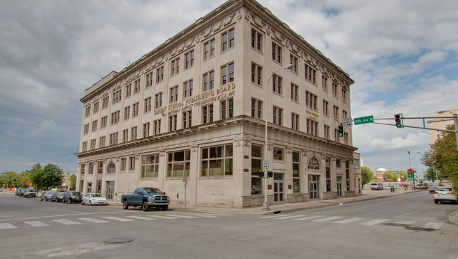 Morris Memorial Building, 330 Charlotte Ave., downtown