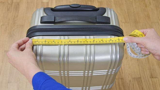 It's probably only a matter of time before shrunken luggage becomes the norm.
