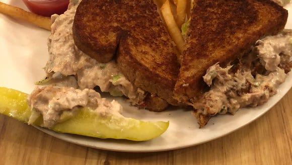 The tuna melt at The Secret Fork