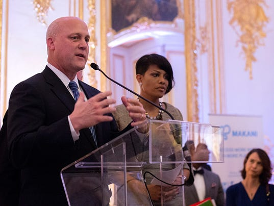 US Conference Of Mayors At Residence of The Ambassador as part 21st Session Of Conference On Climate Change COP21 In Paris