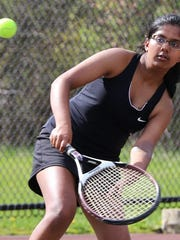Plymouth 3 singles player Swethe Duraiswamy returns