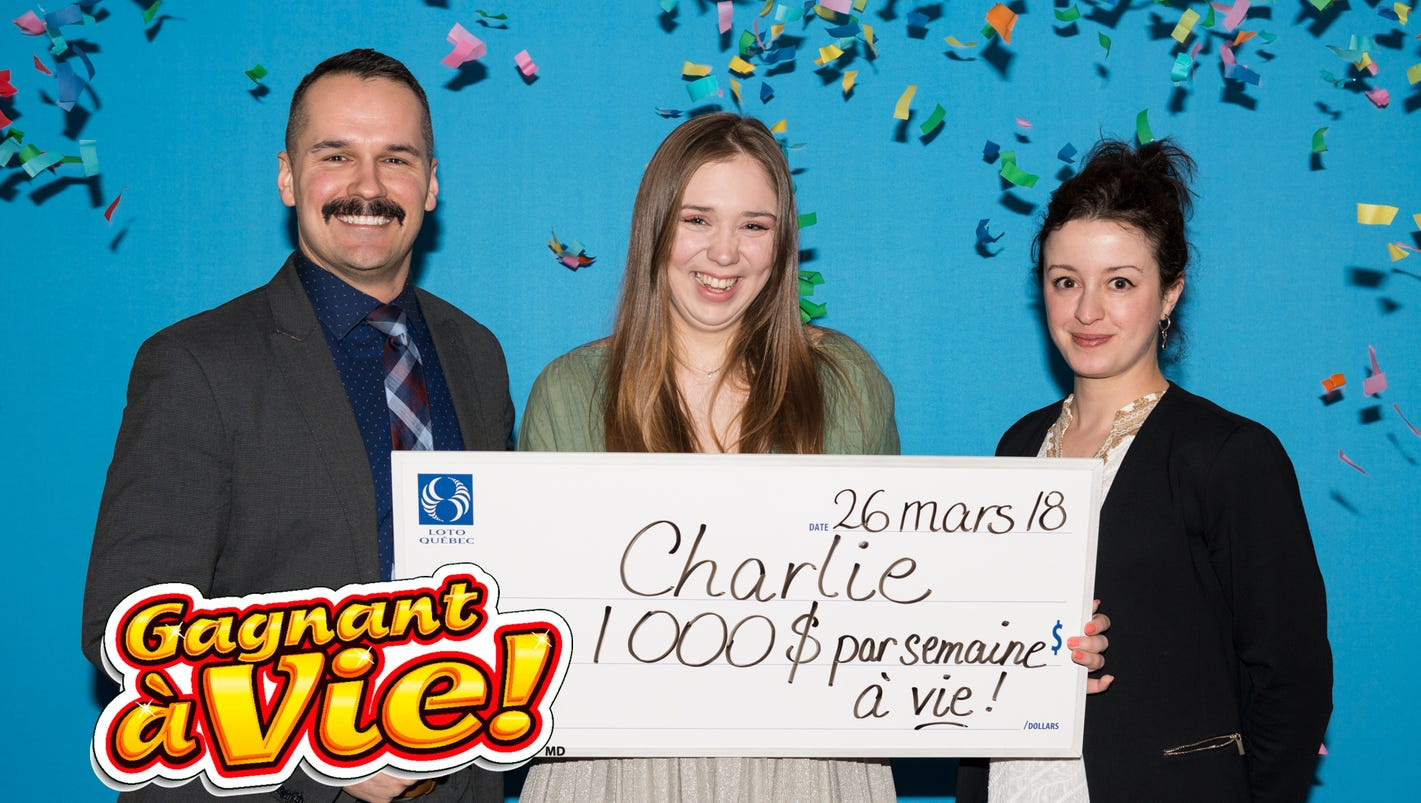 Teen wins lottery jackpot on her first try. Now, that's a happy 18th birthday