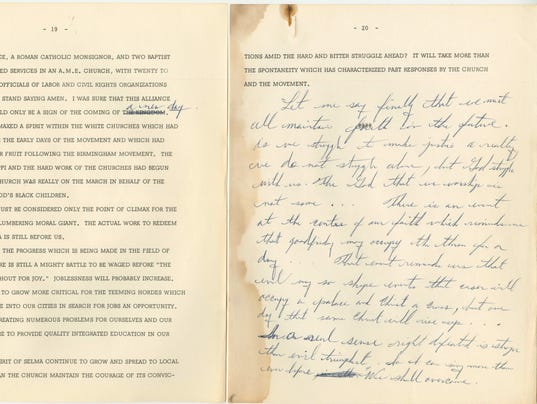 king speech handwritten we shall overcome purchased by  overcome speech jpg dr martin luther king