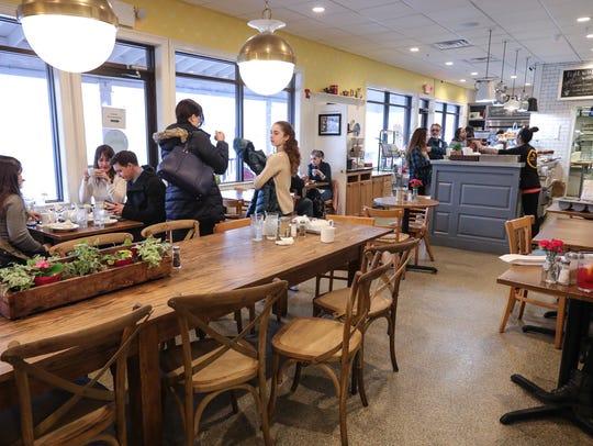 Interior of Dottie Aurdey's Bakery & Kitchen in Tuxedo