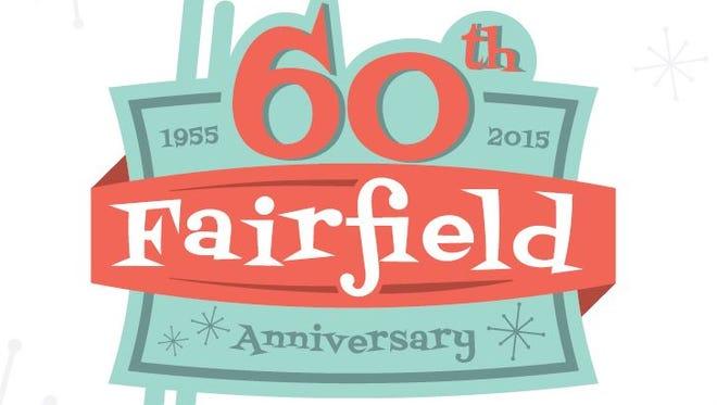 Fairfield's 60th anniversary logo