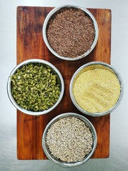 Some of the organic seeds One Love Bread puts in their