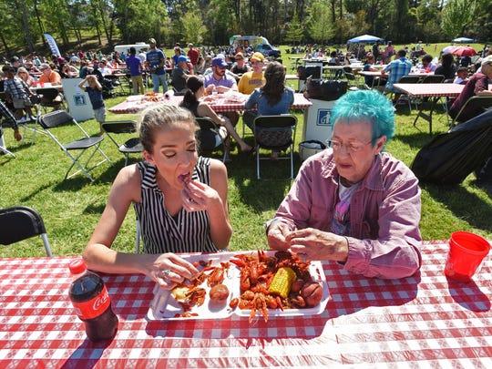 Crawfest 2017 was held Saturday at Shreveport's Betty Virginia Park.