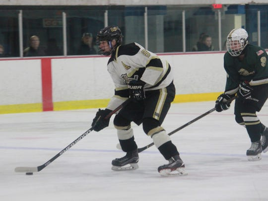 Ryan Carr of Point Boro scored twice in a 3-2 win over