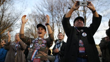 New Yorkers gather in D.C. for inauguration