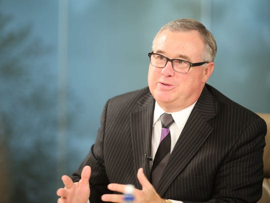 Iowa Clinic CEO Ed Brown is shown in a Register file photo.
