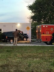 Vehicle crashes into BCFR Sta 44 in W.Cocoa.