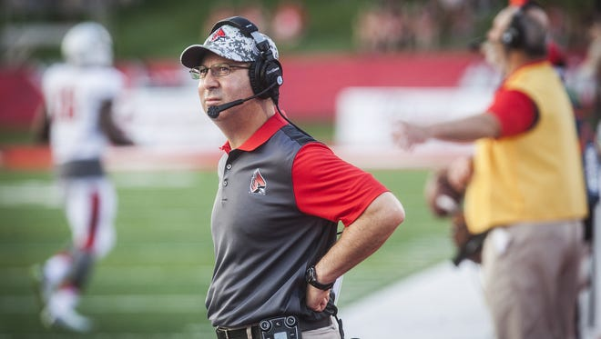 Ball State University has announced head coach Pete Lembo's resignation from the program.