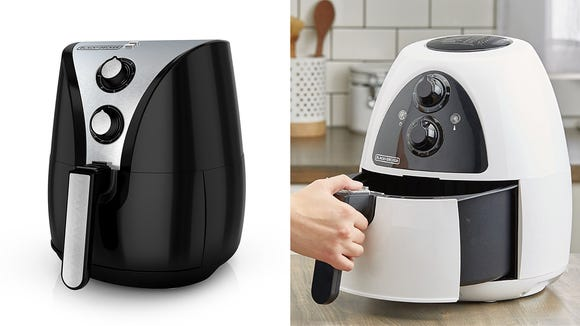 This air fryer does an OK job cooking, but it's bigger