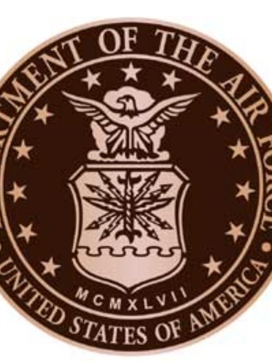 Air Force seal for Fireman's Park veteran's memorial