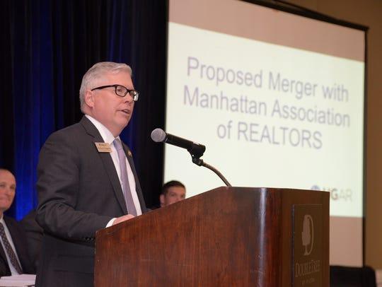 Richard Haggerty, CEO of the Hudson Gateway Association