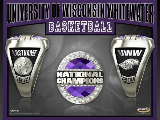 UW-Whitewater 2014 women's wheelchair basketball championship
