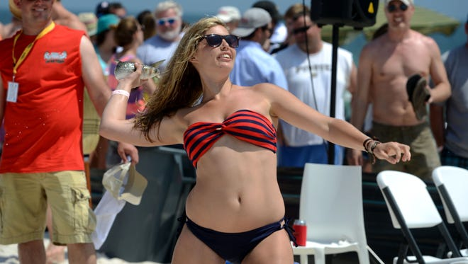 The 30th Annual Mullet Toss closes today at the Flora-Bama Lounge on Perdido Key.