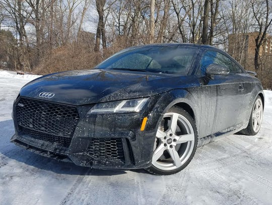 For 2018 the Audi TT gets an RS badge that upgrades