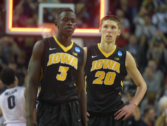 NCAA Basketball: NCAA Tournament-3rd Round-Gonzaga vs Iowa