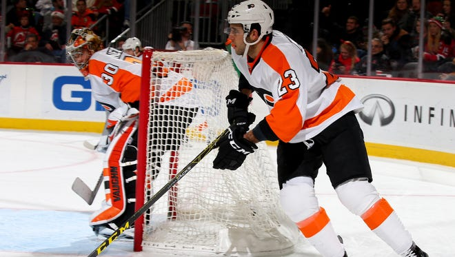 Brandon Manning played Tuesday for the first time in five games.