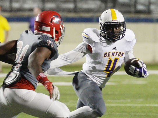 Benton's Doyle Adams Jr. (4) will be one of the leaders