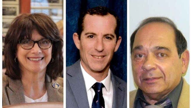 Anne Marie Mastraccio, Lucas Lanigan and Victor DiGregorio are running for mayor of Sanford, Maine, in the city's first contested mayoral race since 2013.