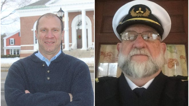 Todd DiFede, left, and Scott Ducharme, both of Kennebunk, are seeking the GOP nomination in the race for Maine House District 8 during the state primary on July 14, 2020.