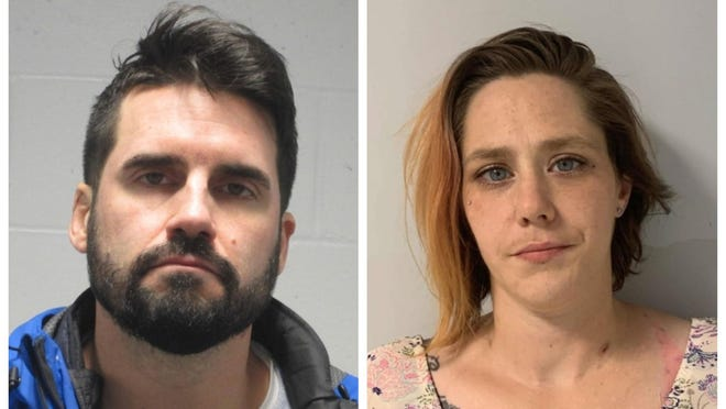 Lars Borssen and Carmelita Edgecomb turned themselves in at the Wells Police Department after warrants were issued for their arrest following an investigation into a local man's drug overdose death earlier this year.