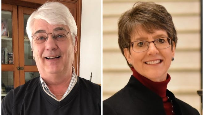 Republican H. Stedman Seavey and Democrat Traci Gere, both of Kennebunkport, are on the ballot in the race for the Maine House District 9 seat in November.