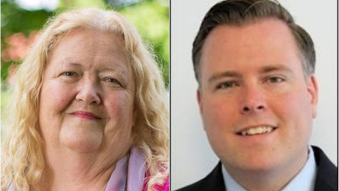 Republican incumbent Rep. Matthew Harrington and Democratic challenger Patricia Kidder, both of Sanford, are competing in the Nov. 3 election to represent Maine House District 19, which is comprised of part of Sanford and Springvale.
